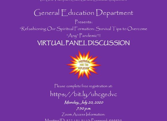 Virtual Conference Flyer
