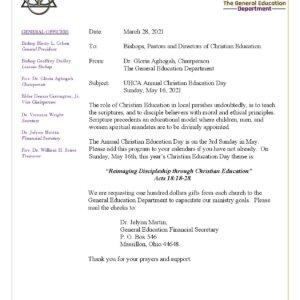 General Education Announcement